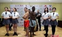 七国拳手河南登封对决 少林高手将挑战非洲悍将