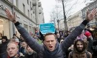普京最大政敌再次被捕 或在监狱中错过俄大选
