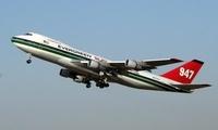 加州大火实在太大了,波音 747 也参与灭火