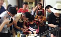 梦想从神话说起 两岸青年在北京历史文化古街的偶遇
