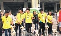 首届广州国际导盲犬节举行