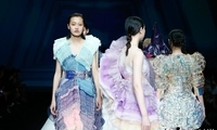 浙江理工大学服装学院毕业发布 诠释时尚多维信息的融合与并置