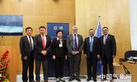 """中国气象局与世界气象组织联合举办""""一带一路""""气象合作会议"""