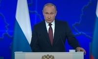 普京第15次发表年度国情咨文:我们必须只向前进 并加快步伐