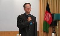驻阿富汗使馆举办中秋茶话会