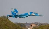 乌克兰1架苏-27战斗机坠毁:2人遇难 包括1名美军飞行员