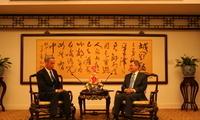 外交部副部长郑泽光会见美中贸委会新任会长艾伦