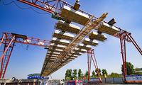 北京轨道交通新机场线铺轨提前完成