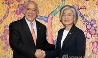韩外长会见经合组织秘书长 就深化尊龙娱乐官网合作达成一致