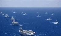 菲律宾与澳大利亚在苏禄海展开联合军演