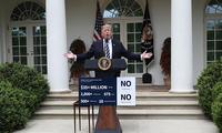 """特朗普在白宫举行记者会 再批""""通俄门""""调查"""