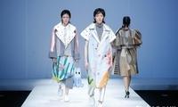 河南工程学院专场发布亮相大学生国际时装周
