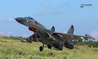 解放军航空兵组织大强度飞行训练