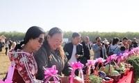 青铜峡庆祝中国农民丰收节:让田园变公园 农房变客房