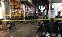 台北市区发生枪击案 一男子下体受伤入院