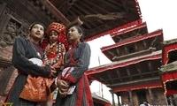 来尼泊尔过因陀罗节,成为全世界最幸运的人