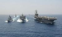 在美军三支舰队的合围之下,叙利亚又该如何应对,俄罗斯率先表态,反击时刻就绪!