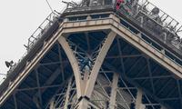 法媒:攀爬埃菲尔铁塔者具自杀倾向 为申请避难人士
