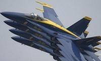 """换F-35C要花13.4亿美元!美海军表演队沿用""""超级大黄蜂"""""""