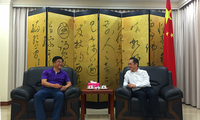 吴骏总领事会见贵州省委常委、宣传部长慕德贵