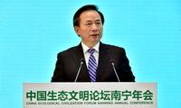 生态环境部部长李干杰:坚决打赢七场标志性战役
