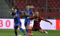 2018中超联赛第19轮河北华夏幸福主场4:1胜上海申花