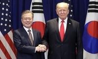 """韩青瓦台:韩美首脑就第二次""""金特会""""日期地点深入协商"""