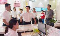 大渡口书记王俊:做好产业链招商 形成聚集效应