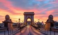 布达佩斯链桥跻身全球最美桥梁前10名
