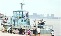 武汉江滩陈列的是缴获日军巡逻艇?实为退役国货