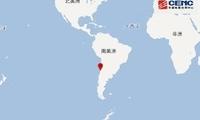 智利中部近海区域发生6.9级地震 暂无海啸威胁