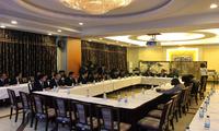 驻津使馆为新老医疗队举办迎送仪式