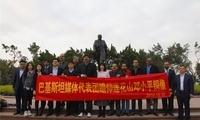 巴基斯坦报纸编辑委员会代表团到访深圳 参观地铁、水治理等项目