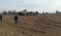叛军出尔反尔猛攻叙军 俄战机也不客气直接用燃烧弹伺候