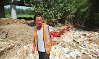 西安泾渭分明景点被曝掩埋垃圾 河长称没处置经验