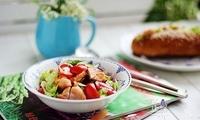 夏季来了,减肥甩肉你需要一道爽口菜——鸡肉蔬菜沙拉