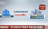商务部:我国对外投资合作平稳有序 质量效益不断提升