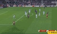 半场 - 巴萨 1-0 莱加内斯,登贝莱推射破门