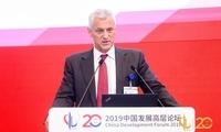 渣打行政总裁:对中国进一步开放感到兴奋,担忧美国经济下行