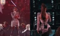 女歌手处女演唱会遇尴尬