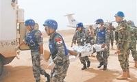 中国维和医疗分队连续获两任联黎部队东区司令嘉奖