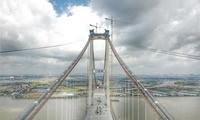 主桥坭洲水道桥顺利合龙 虎门二桥刷新多项纪录