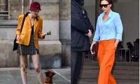 四五十岁的女人,别刻意装嫩,穿对4种颜色的衣服,减龄还显白!