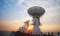 远望3号船20余年完成80次海上测控任务