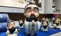 """""""孔子""""IP市场很火爆 深圳文博会山东展区成交量攀升"""