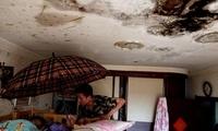 回迁房漏雨三年 住户找物业社区报修几十次没解决