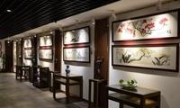 """首届""""指看南粵""""中国画名家六人展在广州开幕"""