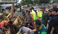 印尼巴布亚洪水造成14人遇难 其中包括4名游客
