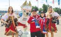 中国元素闪耀世界杯