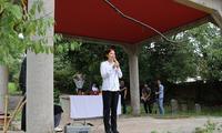 驻长崎总领事刘亚明出席第45回中国人墓地扫墓活动